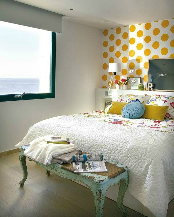 Awesome Bedroom Accent Wall Color And Decorating Ideas – Decoholic Throughout Wall Colors And Accents (View 8 of 15)