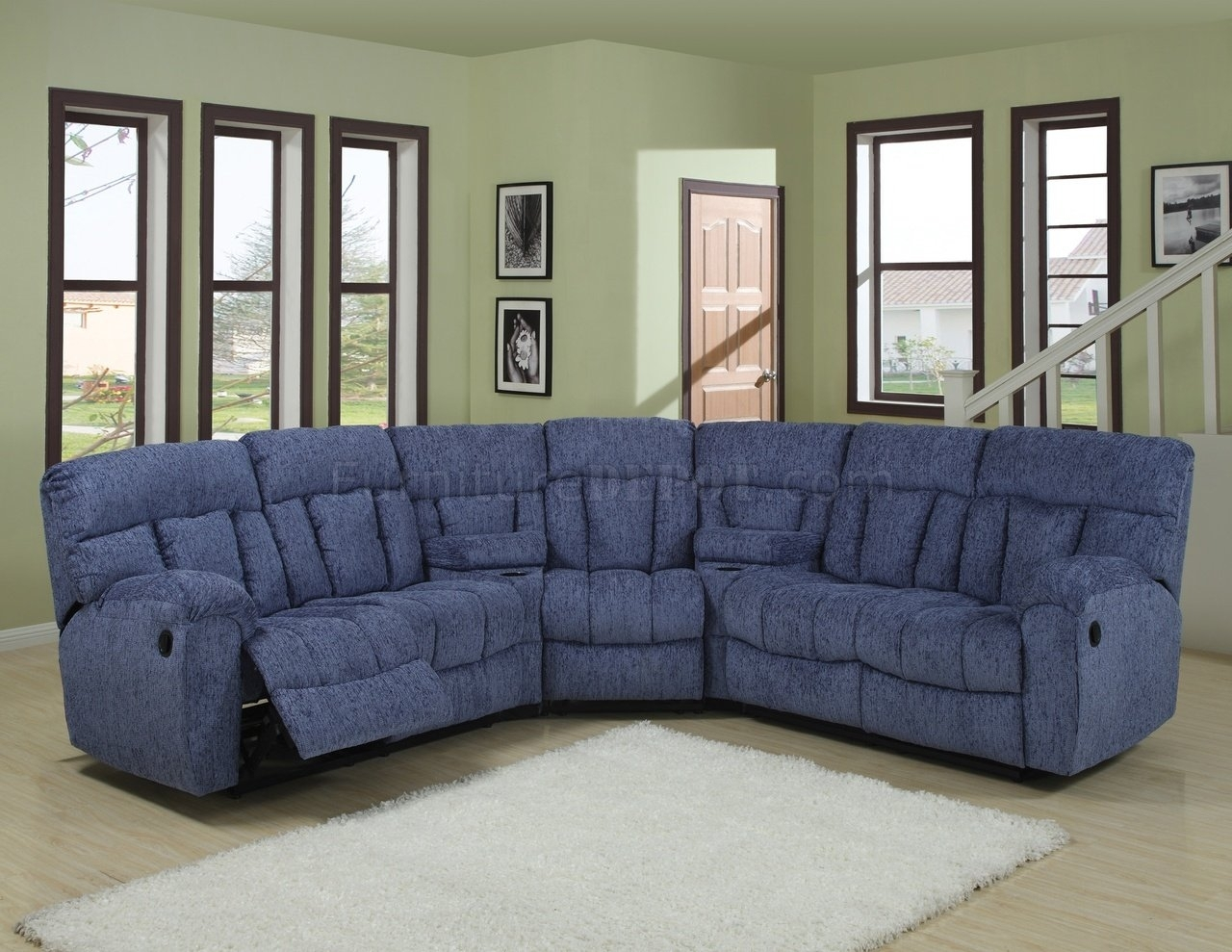 Awesome Blue Sectional Sofa 34 On Sofa Room Ideas With Blue Inside Blue Sectional Sofas (View 10 of 10)