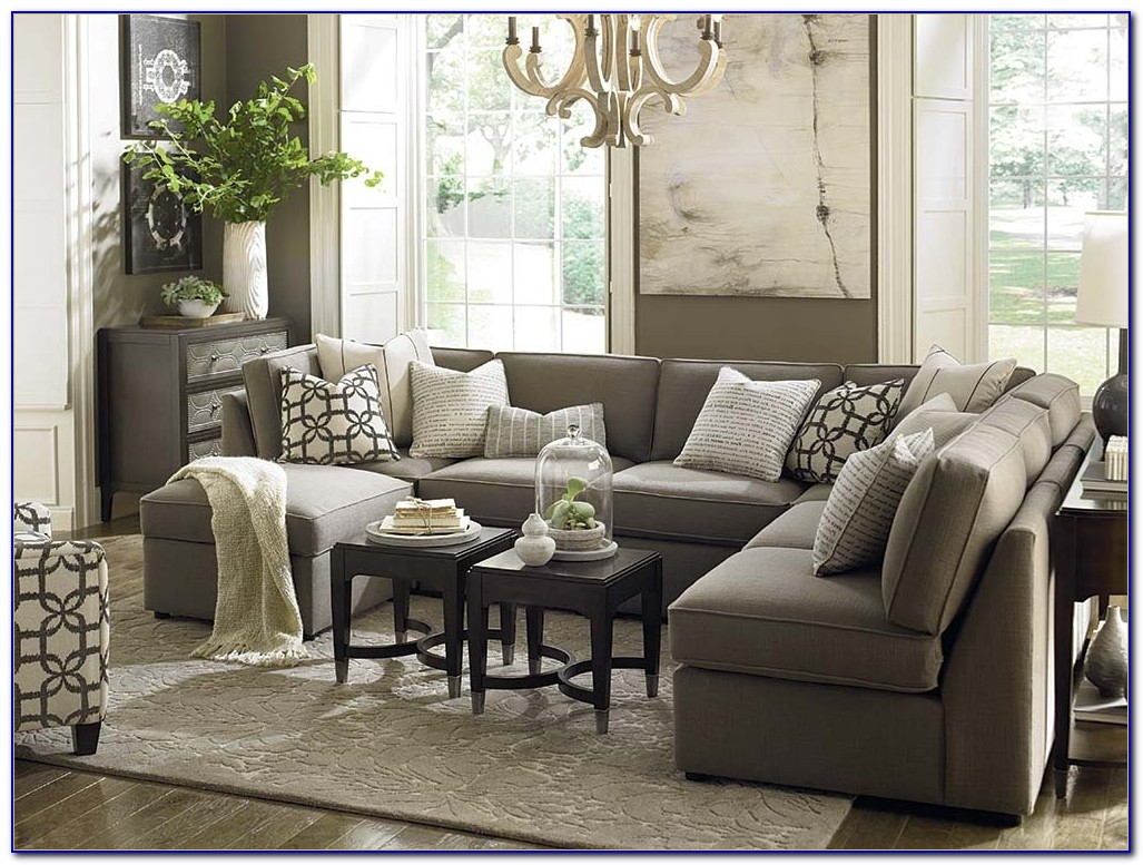 10 collection of reclining u shaped sectionals sofa ideas. Black Bedroom Furniture Sets. Home Design Ideas
