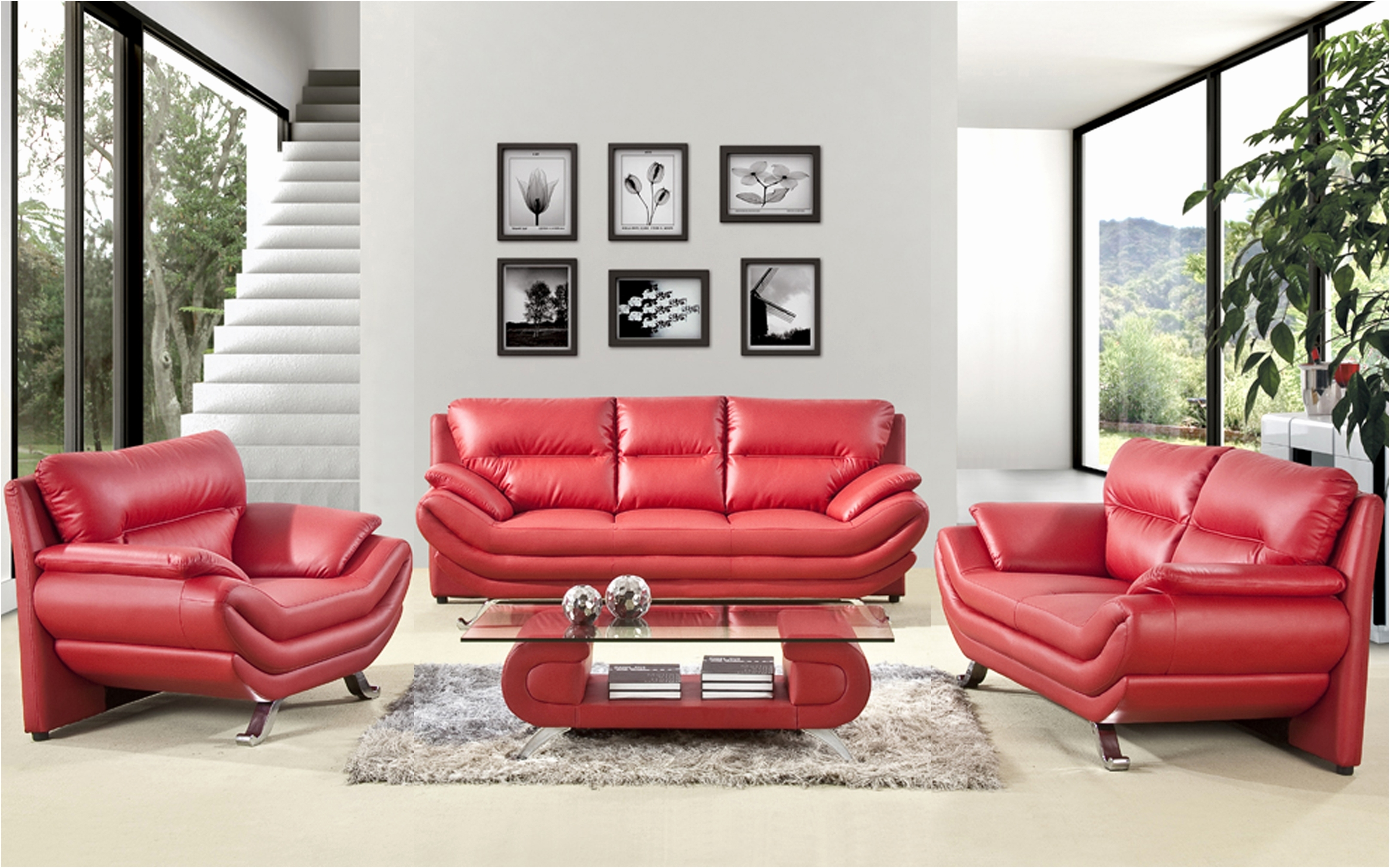 Awesome Red Leather Sofas Inspirational – Intuisiblog Pertaining To Red Leather Couches For Living Room (View 5 of 10)