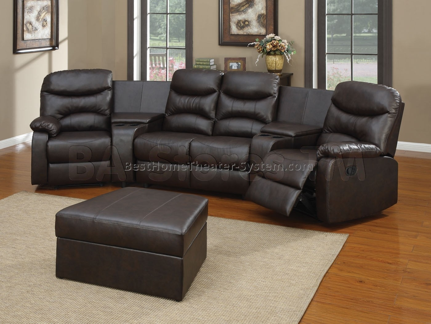 Awesome Sectional Sofa Theater Style – Mediasupload Within Kanes Sectional Sofas (View 6 of 10)