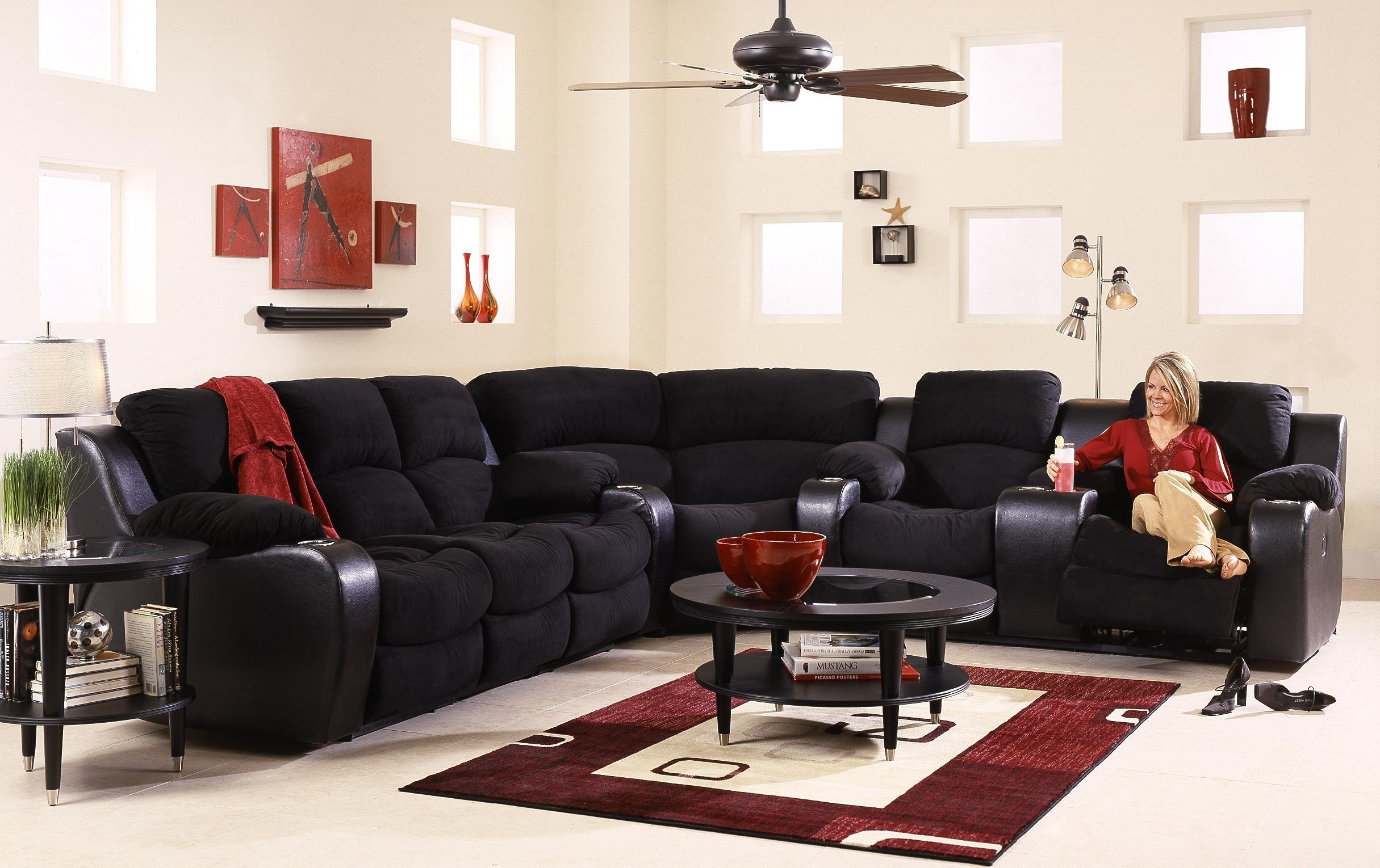 Awesome Sectional Sofas With Cup Holders Unique – Tatsuyoru Inside Grand Furniture Sectional Sofas (Image 1 of 10)