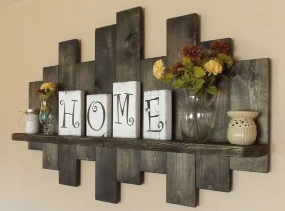 Awesome To Do Rustic Wood Decor Wall Modern Home Design Ideas With Rustic Wall Accents (Image 9 of 15)