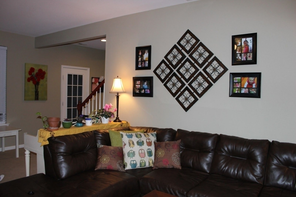 Awesome Wall Art Decor For Living Room Images – Mywhataburlyweek In Custom Wall Accents (Image 5 of 15)