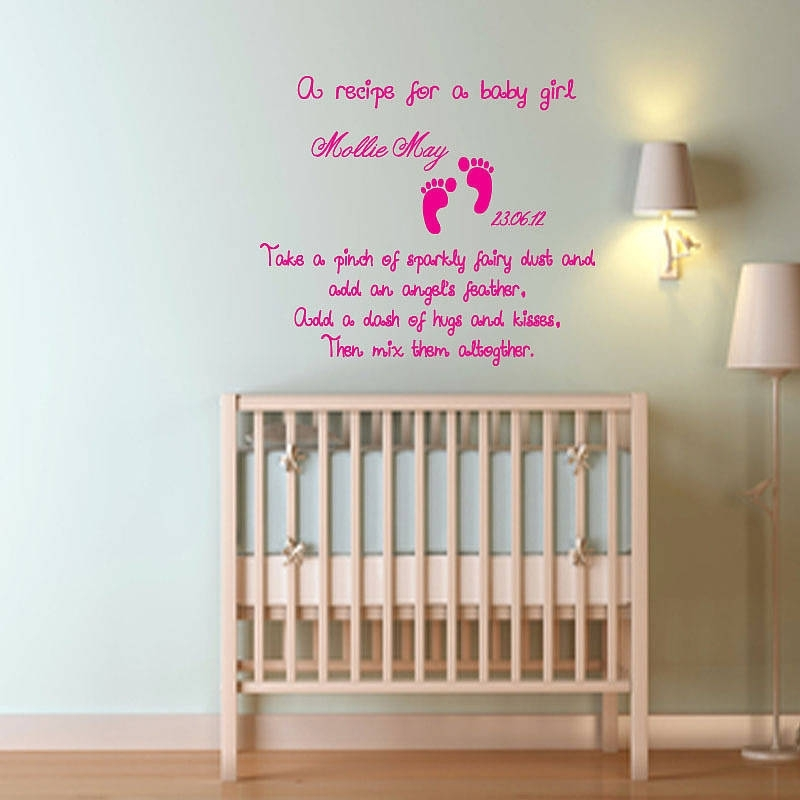 Baby Boy Nursery Wall Art Uk – Best Idea Garden Intended For Girl Nursery Wall Accents (View 13 of 15)