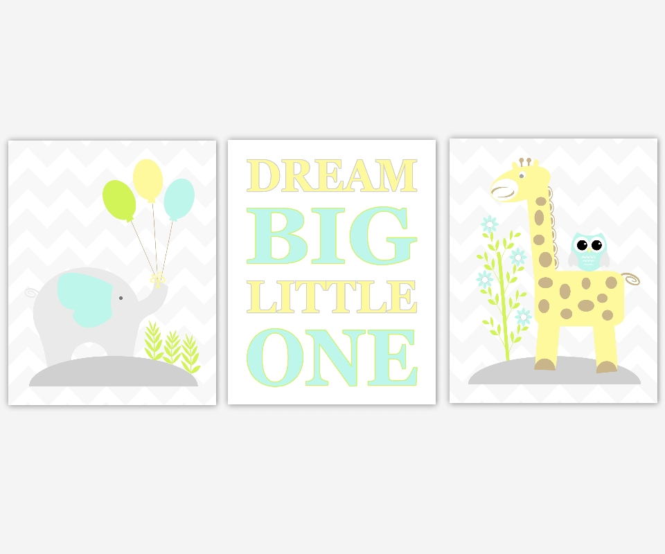 Featured Photo of Baby Room Canvas Wall Art