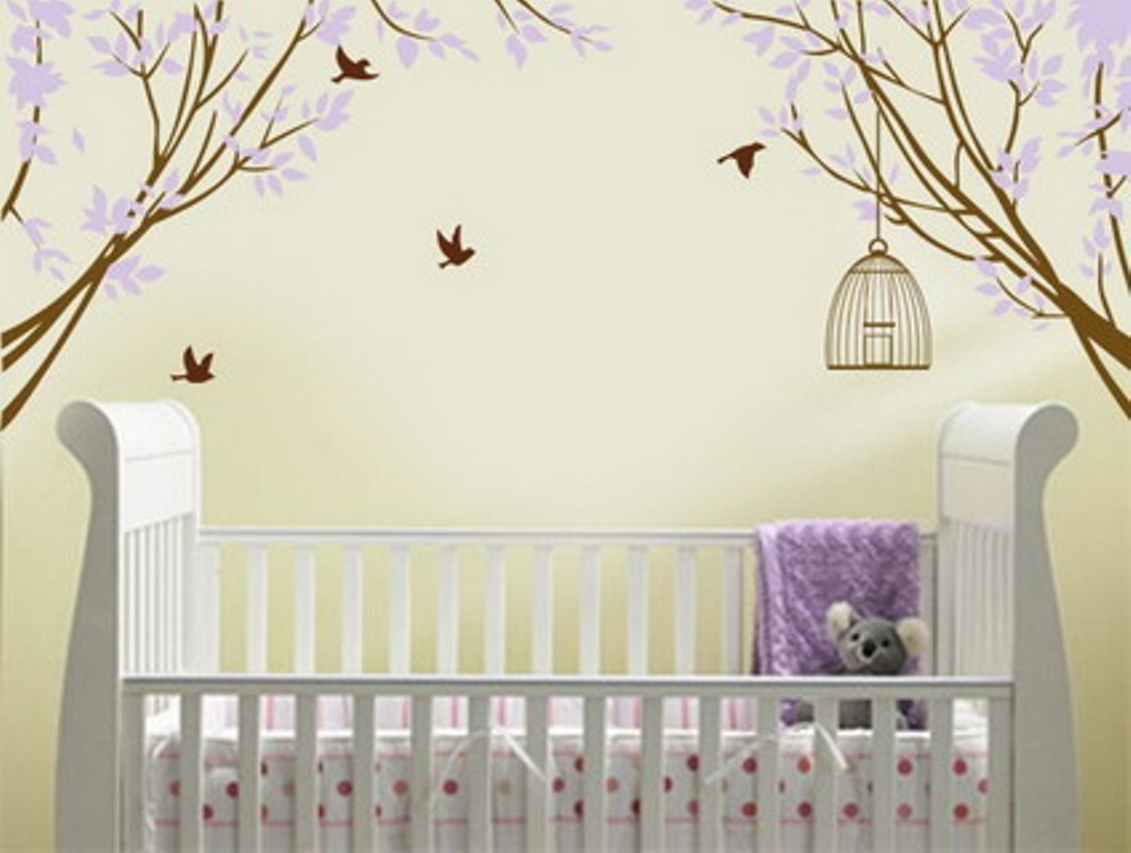 Baby Nursery Wall Decals Quotes | Inspiration Home Designs : Baby For Nursery Wall Accents (Image 3 of 15)