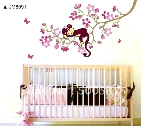 Baby Room Wall Decorations Zoom Nursery Wall Decor Girl Ideas Intended For Girl Nursery Wall Accents (View 14 of 15)