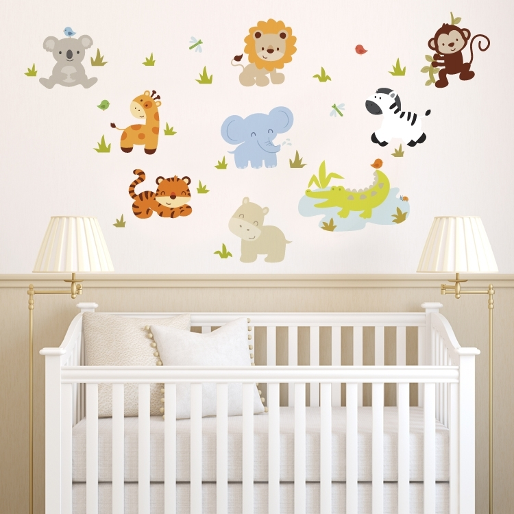 Baby Wall Decorations For Nursery – Palmyralibrary Intended For Nursery Wall Accents (Image 5 of 15)
