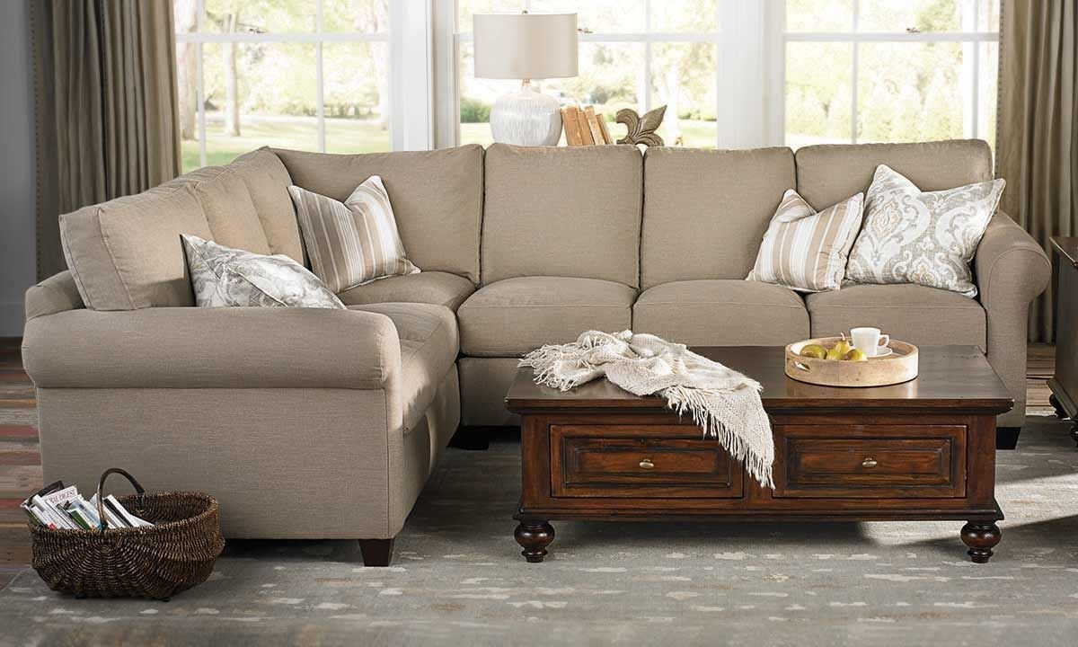 Barron Sectional Sofa | Haynes Furniture, Virginia's Furniture Store In Haynes Sectional Sofas (Image 1 of 10)