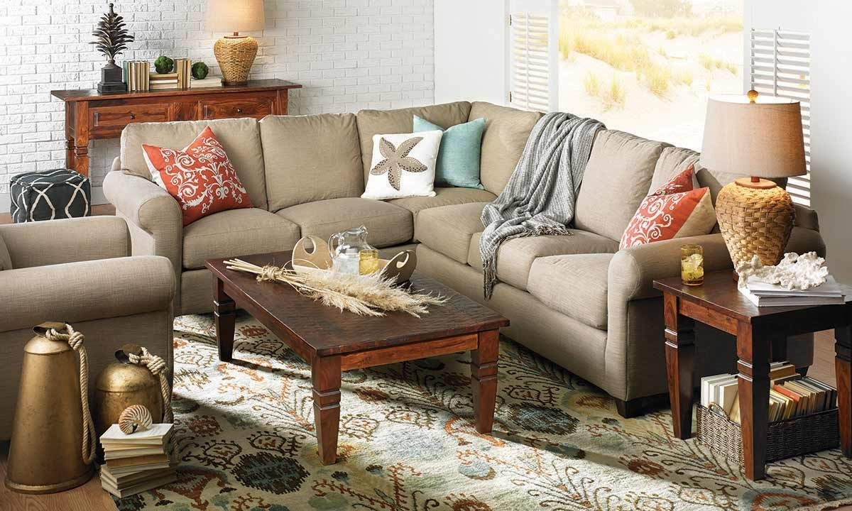 Barron Sectional Sofa | Haynes Furniture, Virginia's Furniture Store Regarding Virginia Sectional Sofas (View 2 of 10)