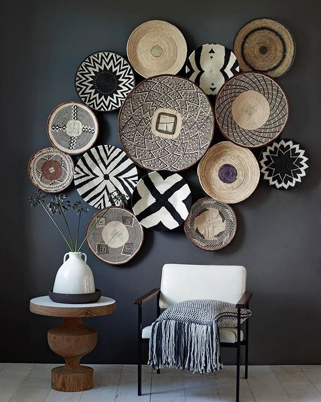 Basket Wallstylist @marianneluning On Instagram | Residential Throughout African Wall Accents (Image 11 of 27)