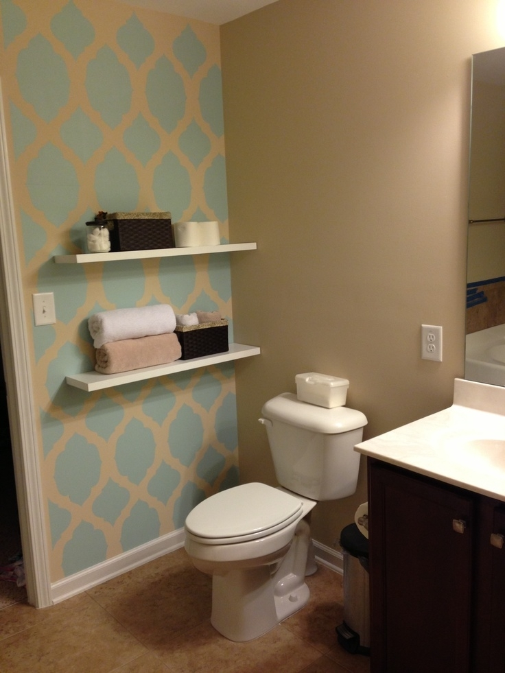 Bathroom Accent Wall Ideas Modern With Image Of Bathroom Accent Within Wall Accents For Bathrooms (View 14 of 15)