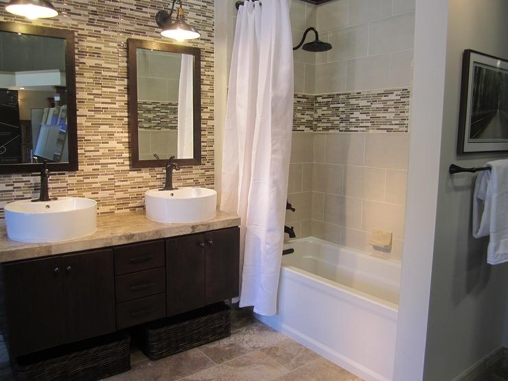 Bathroom With Accent Wall – Rdcny Intended For Wall Accents For Bathroom (Image 7 of 15)