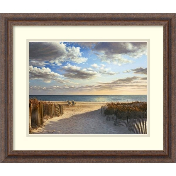 Beach Coastal Pictures | Wayfair Within Framed Beach Art Prints (View 13 of 15)