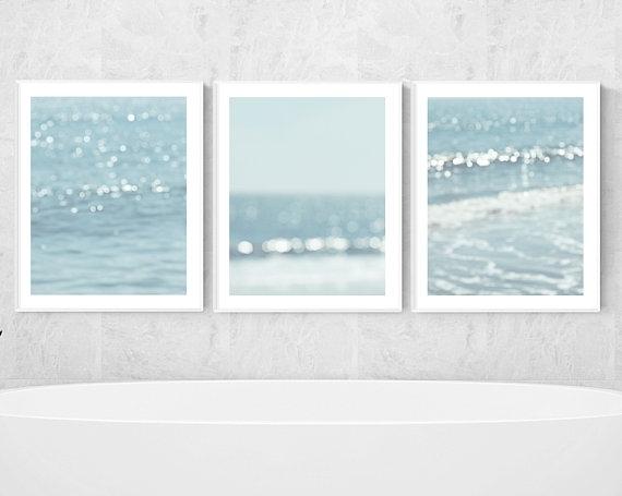 Beach Prints Nautical Wall Decor Ocean Photography Abstract Within Abstract Nautical Wall Art (View 10 of 15)