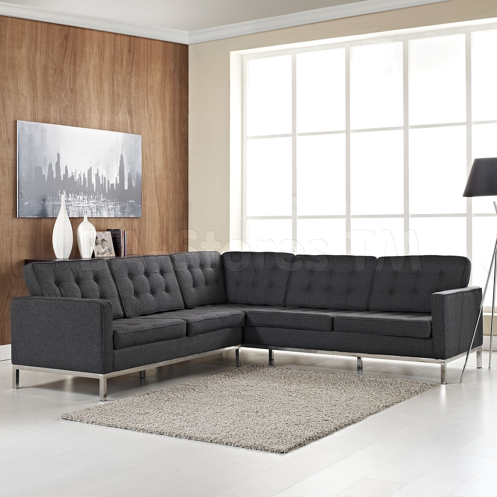 Beautiful L Shaped Sectional Sofas Contemporary Shape Sofa ~ Idolza With Regard To Sleek Sectional Sofas (View 7 of 10)