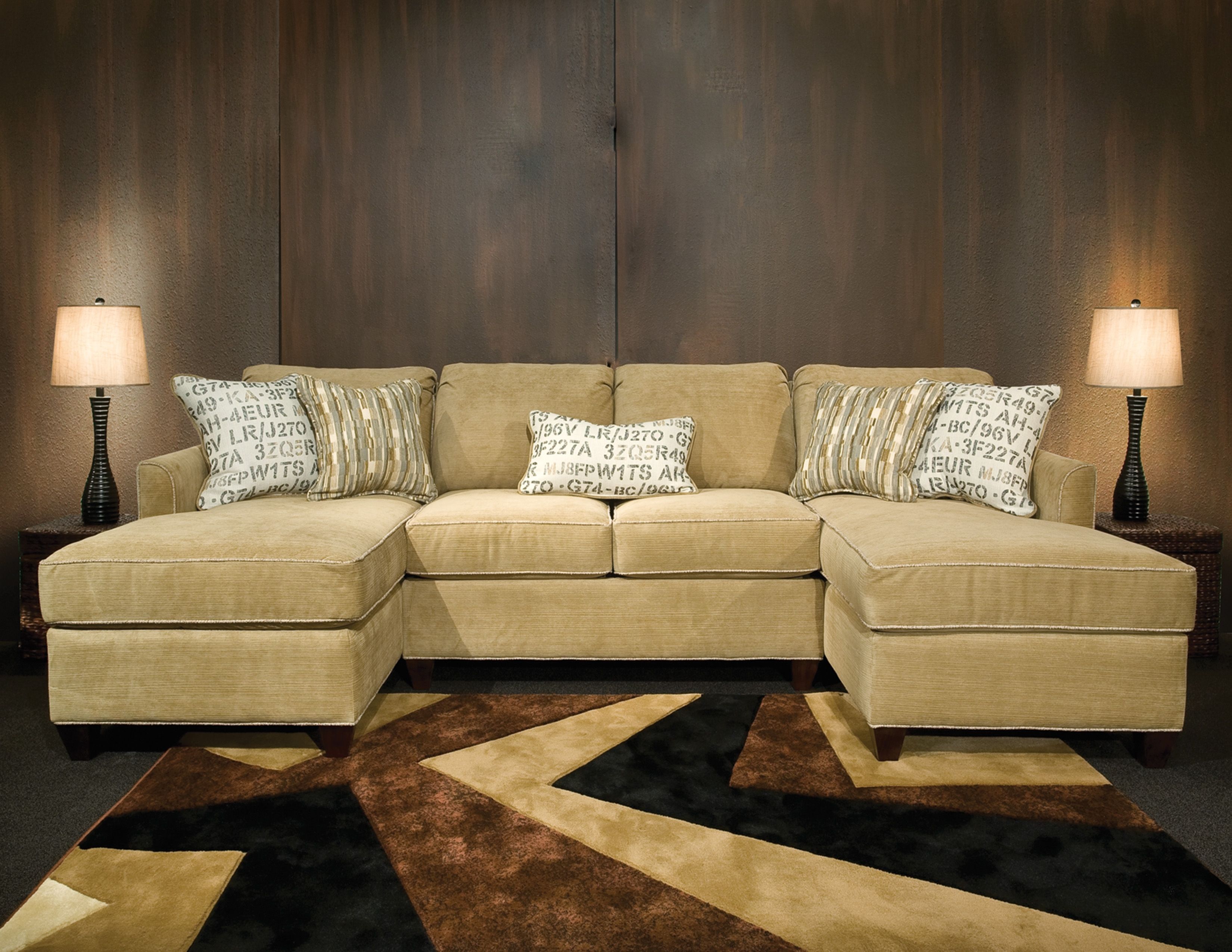 Beautiful Sectional Sofas With Chaise Lounge Gallery – Liltigertoo Throughout Sectional Sofas With 2 Chaises (View 3 of 10)