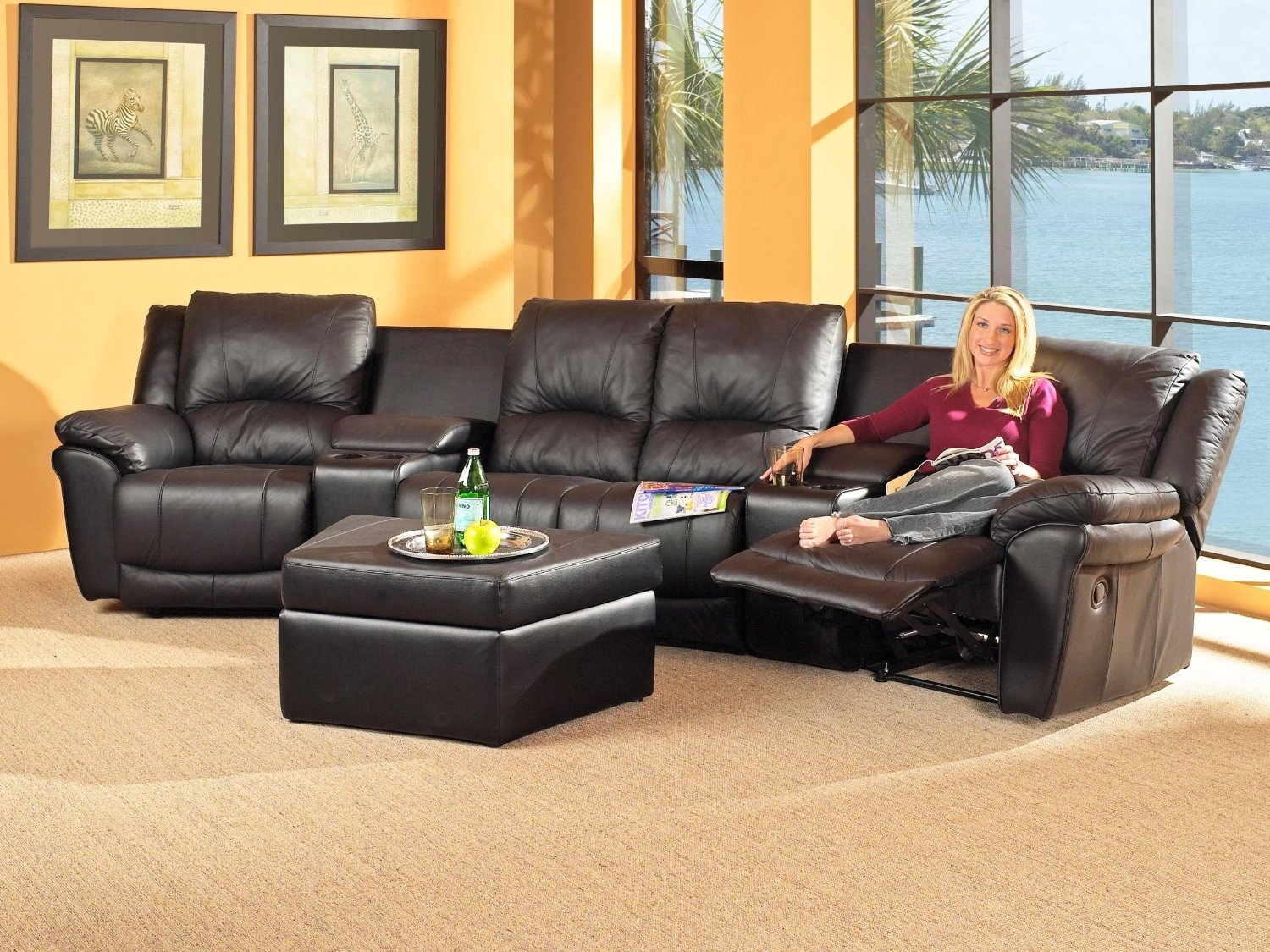 Beautiful Sectional Sofas With Recliners For Small Spaces 81 With Within Tampa Sectional Sofas (Image 1 of 10)