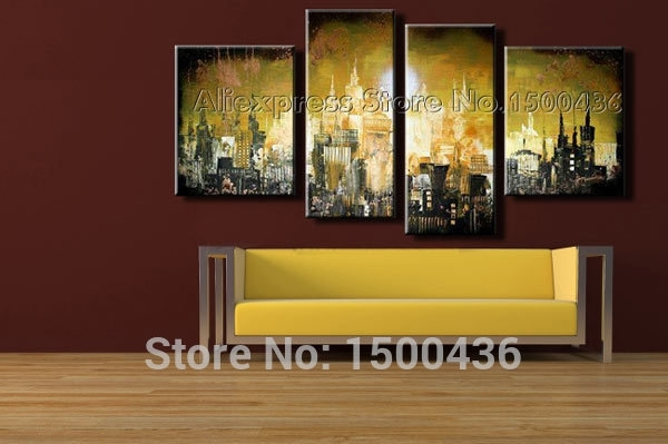 Beautiful Wall Art Cityscape Images – Wall Art Design Throughout Ottawa Abstract Wall Art (View 5 of 15)