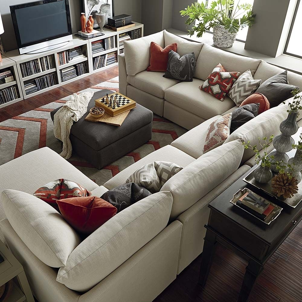 Beckham U Shaped Sectional | Shapes, Living Rooms And Room In Blue U Shaped Sectionals (Image 1 of 10)