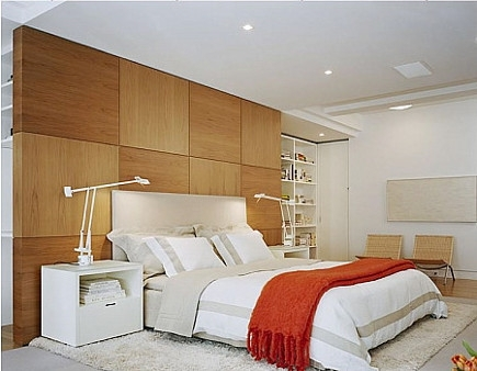 Bedroom Accent Walls Regarding Wall Accents Behind Bed (Image 6 of 15)