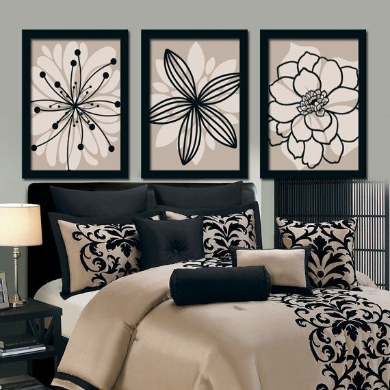 Bedroom Bedding Wall Art Canvas – Home Furniture Ideas Throughout Bedroom Canvas Wall Art (Image 8 of 32)