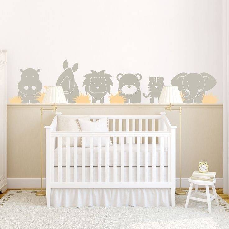 Bedroom Decoration : Wall Decorations For Baby Room Wall Throughout Nursery Wall Accents (Image 6 of 15)