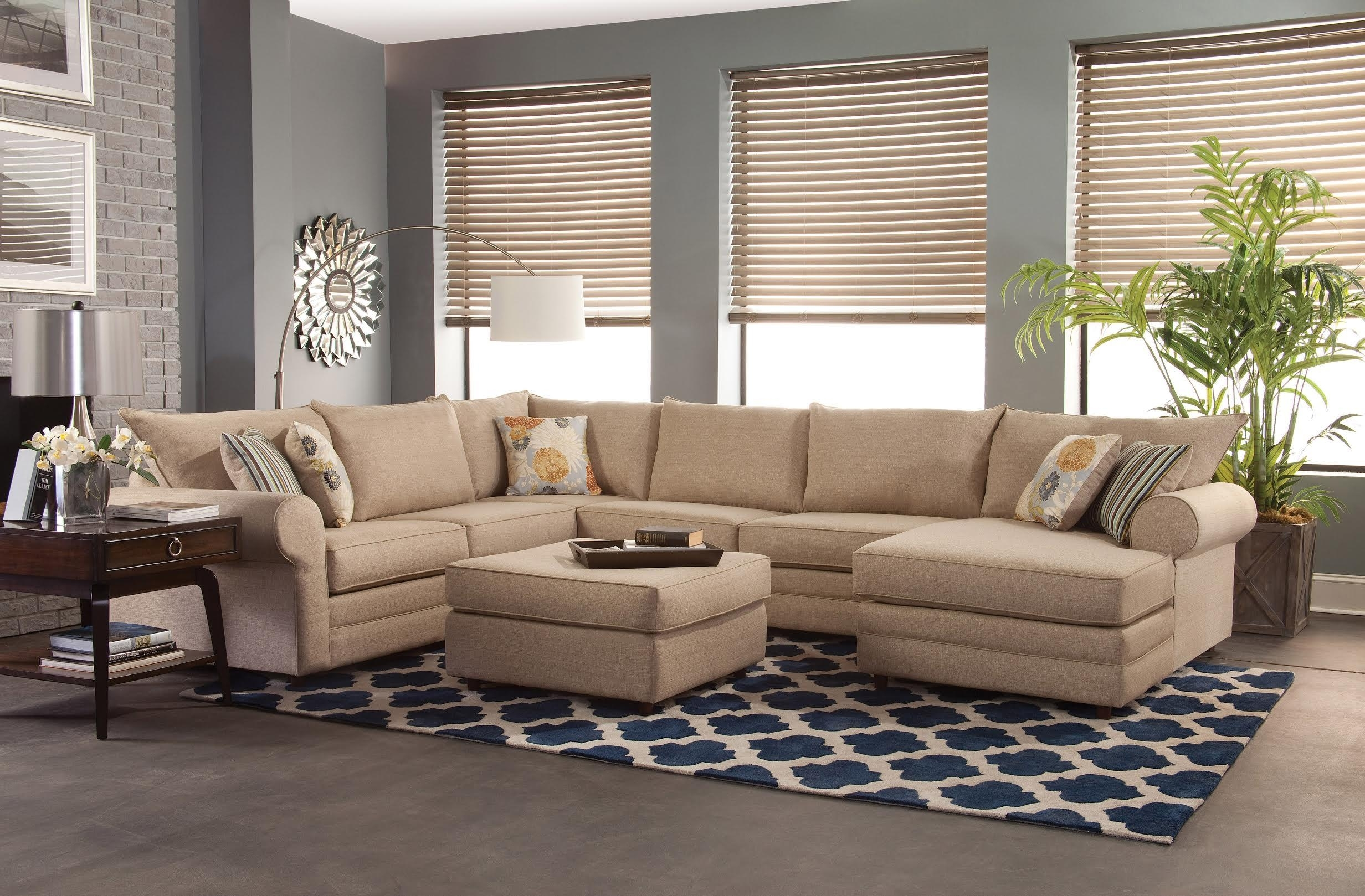 Belfort Essentials Monticello Casual Sectional Sofa | Belfort With Regard To Sectional Sofas (Image 1 of 10)