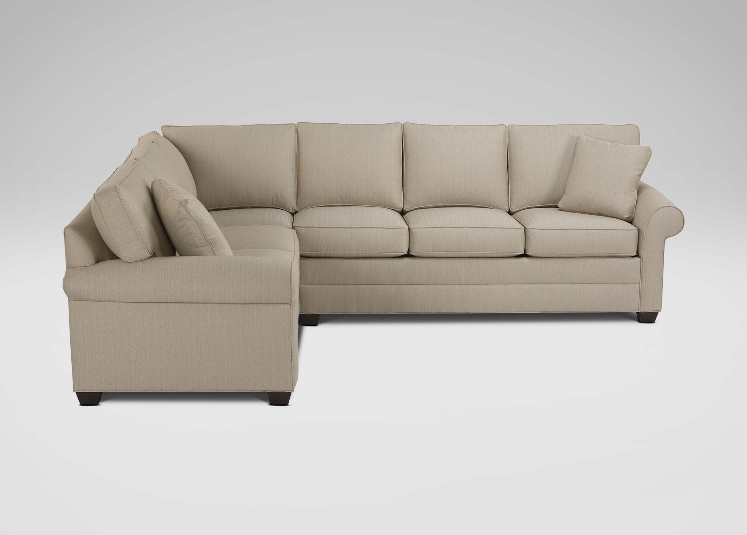 Bennett Roll Arm Sectional | Sectionals For Sectional Sofas At Ethan Allen (View 3 of 10)
