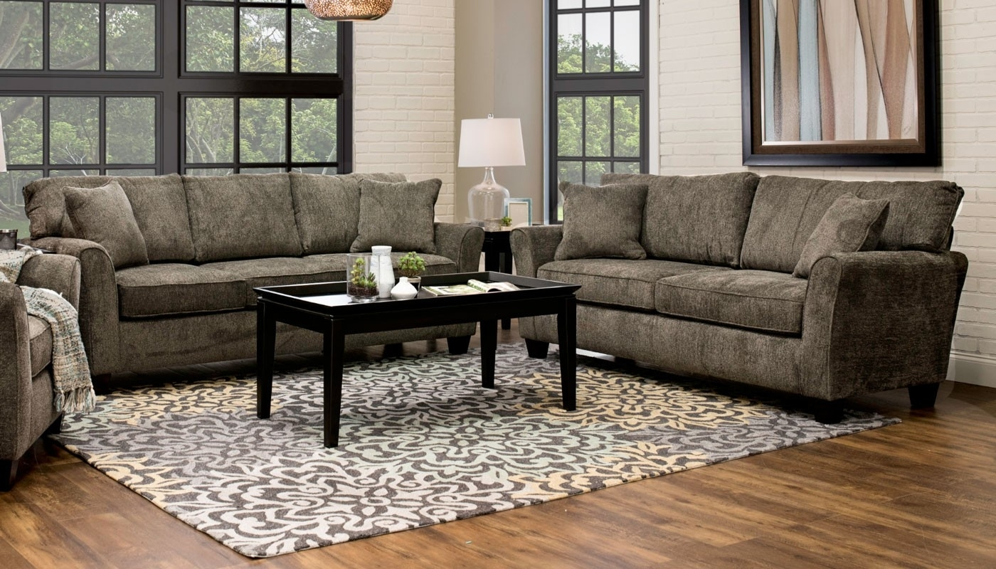 Bentley Ii Sofa – Home Zone Furniture | Living Room Intended For Home Zone Sectional Sofas (View 8 of 10)