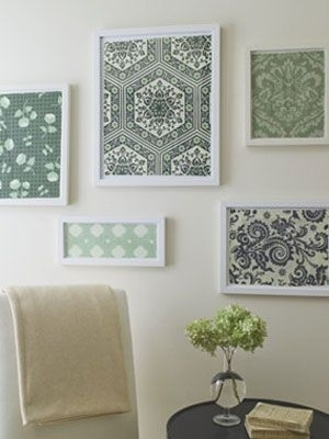 Best 25 Fabric In Frames Ideas On Pinterest Decorating With For Fabric Covered Frames Wall Art (Image 2 of 15)