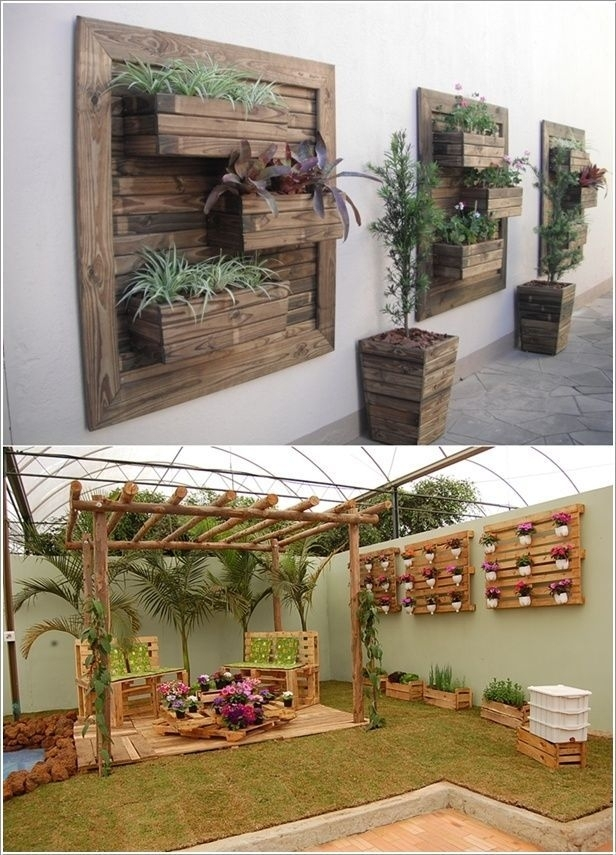 Best 25 Outdoor Wall Decorations Ideas On Pinterest Outdoor Throughout Garden Wall Accents (Image 2 of 15)
