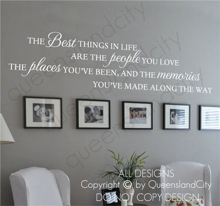 Best 25 Wall Sayings Decals Ideas On Pinterest Wall Sayings Within With Removable Wall Accents (Image 6 of 15)