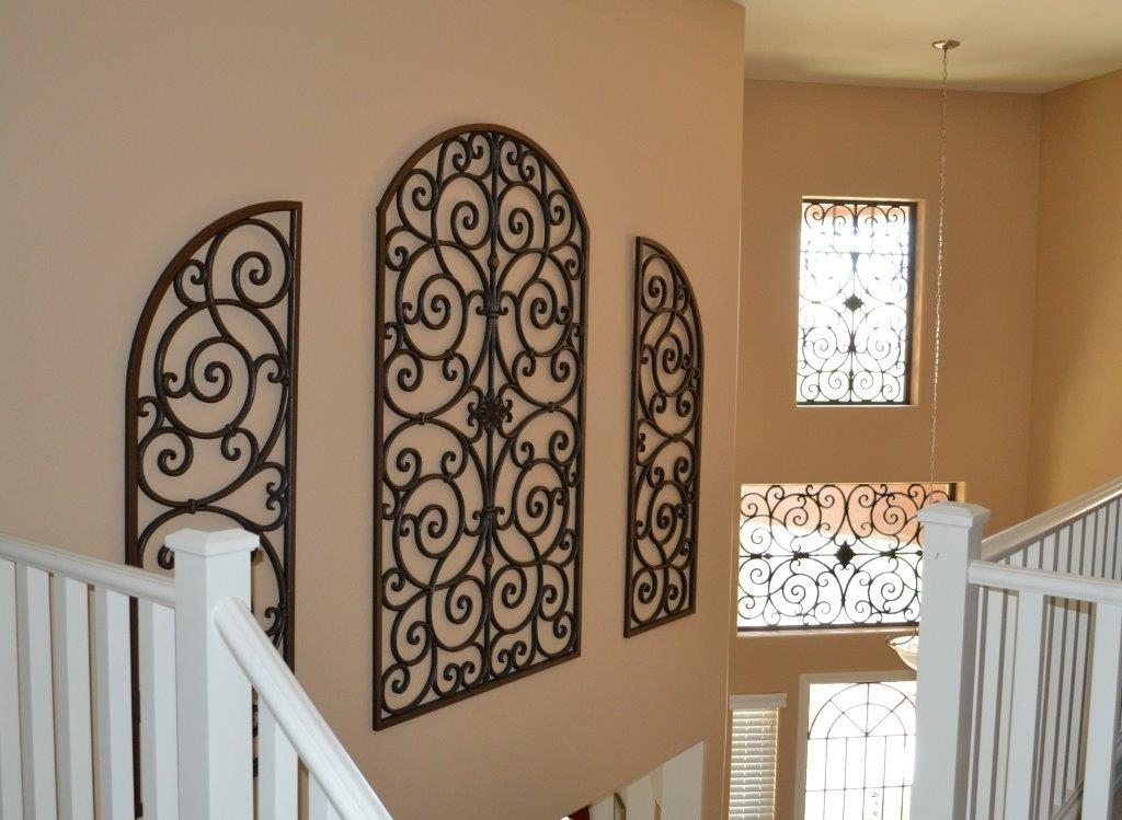 Best 25 Wrought Iron Wall Art Ideas On Pinterest Within Decor Within Iron Fabric Wall Art (Image 3 of 15)