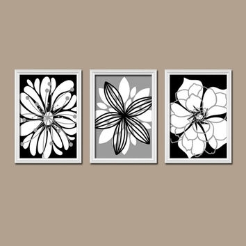Best Black And White Bathroom Set Products On Wanelo With Regard To Vintage Bath Framed Art Prints Set Of (View 8 of 15)