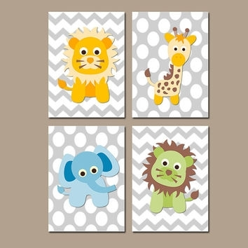Best Elephant Canvas Art For Nursery Products On Wanelo In Baby Room Canvas Wall Art (Image 6 of 15)