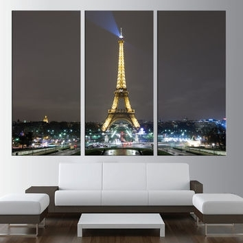 Best Extra Large Canvas Art Products On Wanelo For Eiffel Tower Canvas Wall Art (View 15 of 15)
