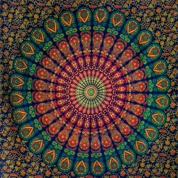 Best Indian Fabric Wall Hanging Products On Wanelo Pertaining To Indian Fabric Wall Art (Image 1 of 15)