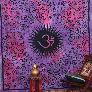 Best Indian Fabric Wall Hanging Products On Wanelo Pertaining To Purple Fabric Wall Art (Image 4 of 15)