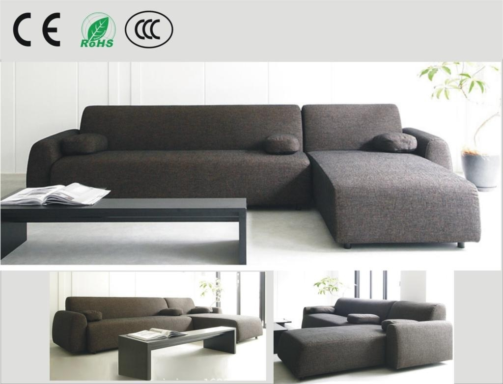 Best Japanese Style Fabric Sofa Small Apartment Sofa Corner Sofa Within Apartment Sofas (View 7 of 10)