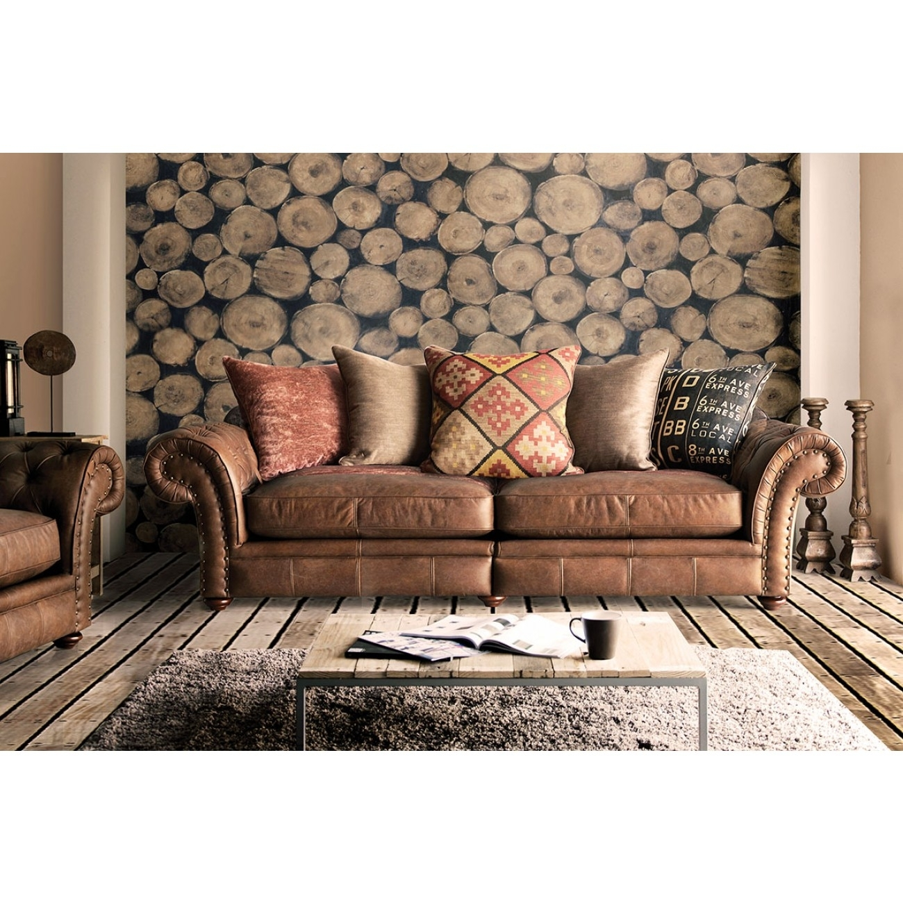 Best Leather And Fabric Sofas 34 Sofa Room Ideas With Leather And Regarding Leather And Cloth Sofas (Image 1 of 10)