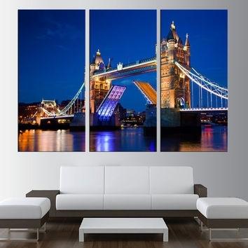 Best London Skyline Wall Art Products On Wanelo Inside London Canvas Wall Art (Image 4 of 15)