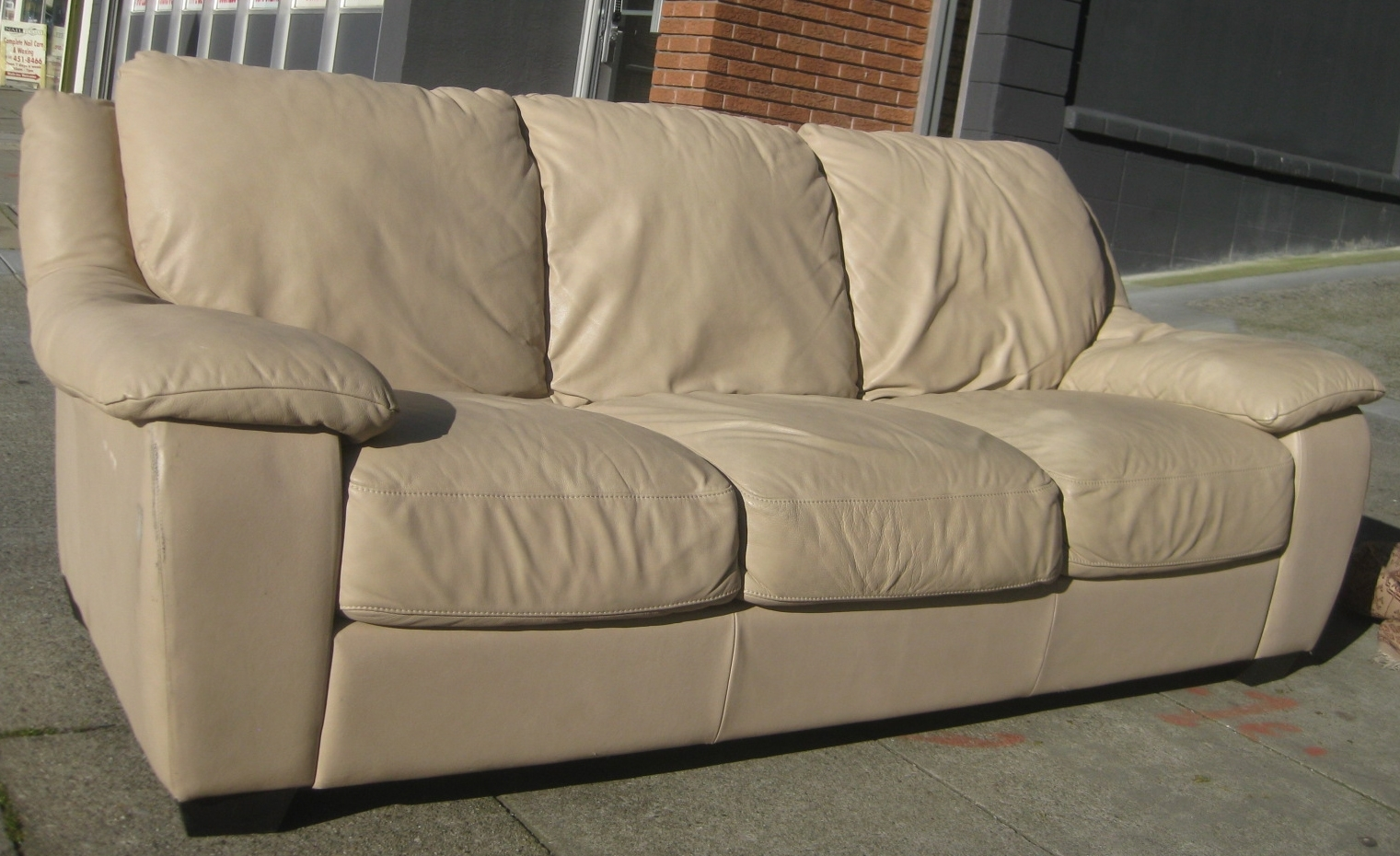 Best Off White Leather Couch Pictures – Liltigertoo Intended For Off White Leather Sofas (Image 1 of 10)