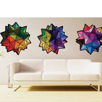 Best Origami Wall Decor Products On Wanelo Intended For Geometric Fabric Wall Art (View 14 of 15)