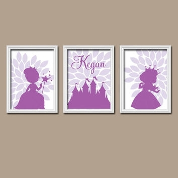Best Personalized Princess Wall Art Products On Wanelo Pertaining To Custom Nursery Canvas Wall Art (View 11 of 15)