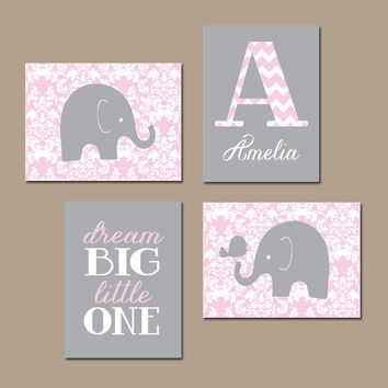 Best Pink Bird Names Products On Wanelo Throughout Baby Names Canvas Wall Art (Image 7 of 15)