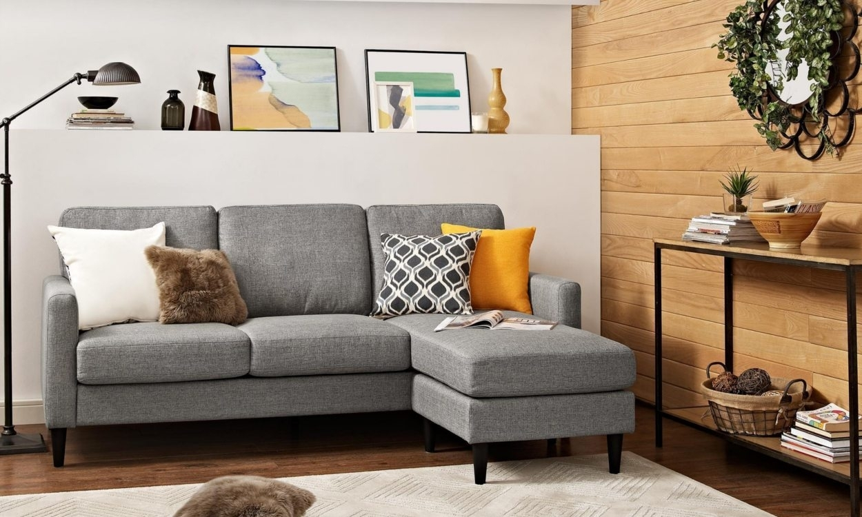 Best Sectional Sofas For Small Spaces – Overstock Regarding Sectional Sofas For Small Spaces (Image 3 of 10)