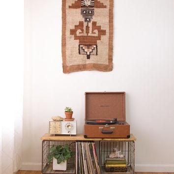 Best Vintage Woven Wall Hanging Products On Wanelo Inside Aztec Fabric Wall Art (Image 6 of 15)