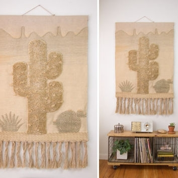 Best Vintage Woven Wall Hanging Products On Wanelo With Regard To Woven Fabric Wall Art (View 9 of 15)